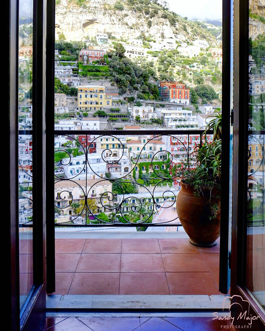 An Open View - Positano, Italy