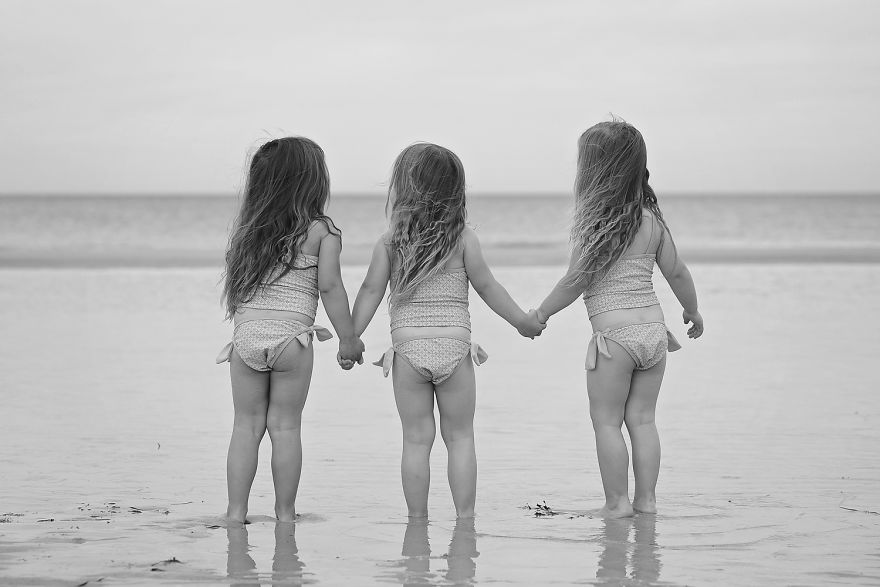Raising Triplet Girls