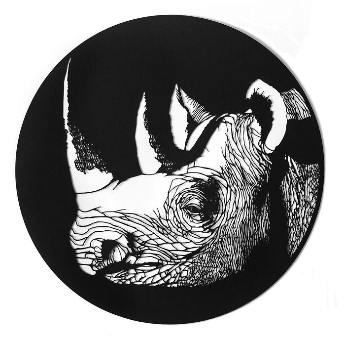 Western Black Rhino (Extinct)