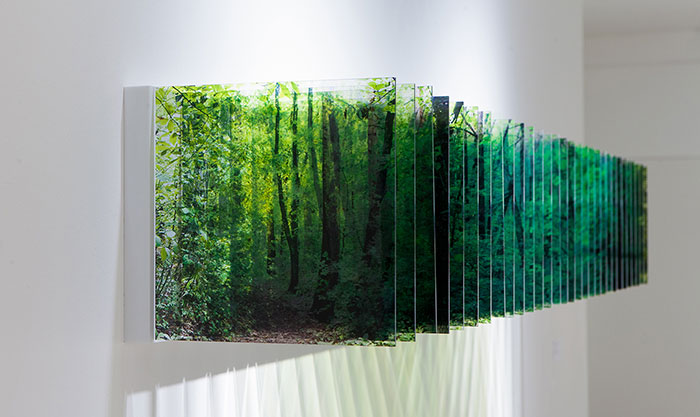 Japanese Artist Layers 100s Of Photos Taken Over Time To Produce Stunning Multidimensional Landscapes