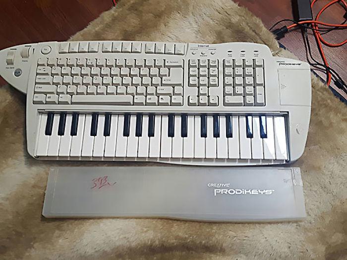 He encontrado un teclado-teclado