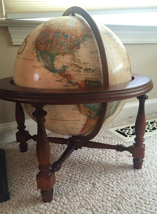 Got This Amazing Globe