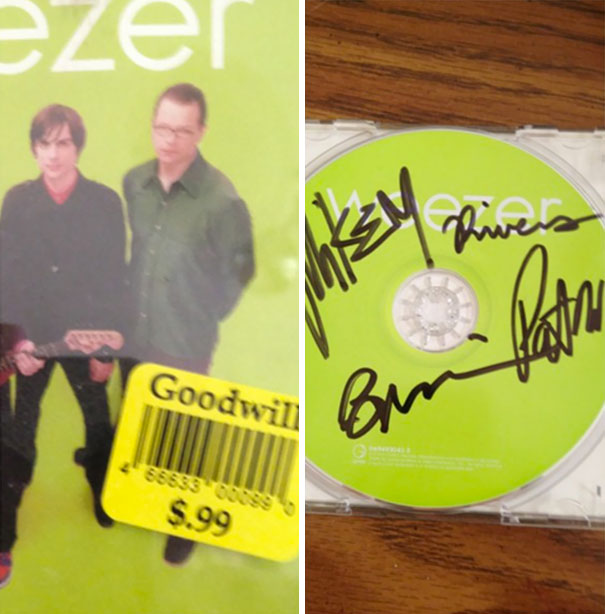 A Friend Of Mine Bought A Weezer CD Without Looking Inside