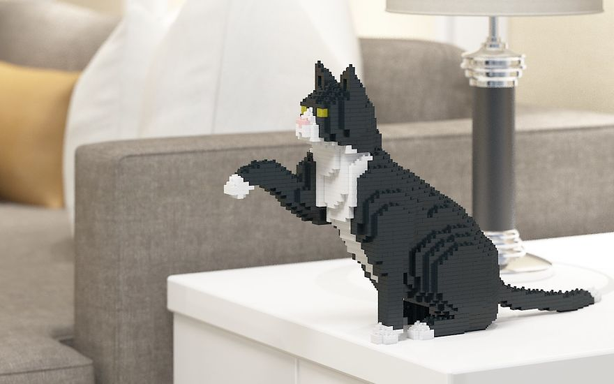 Animal Lego Sculpture