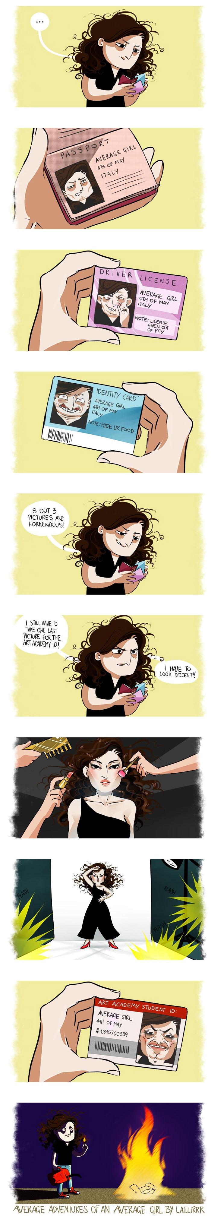 Average Girl Comic