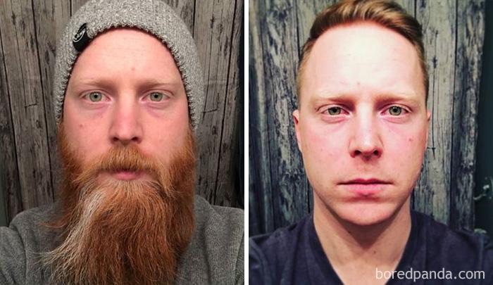 Tras el afeitado