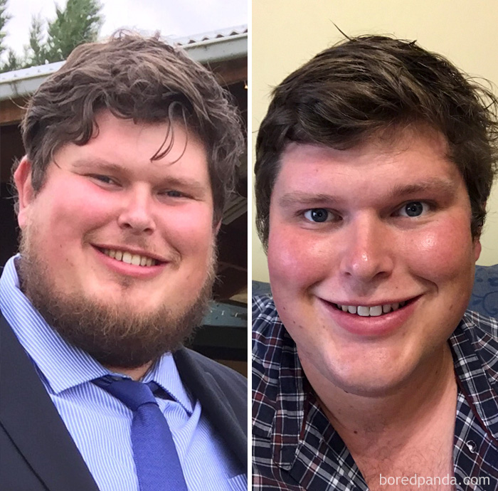 8 Months Sober, Down 17kg (38ibs) And Finally Shaved Off My Neck Beard