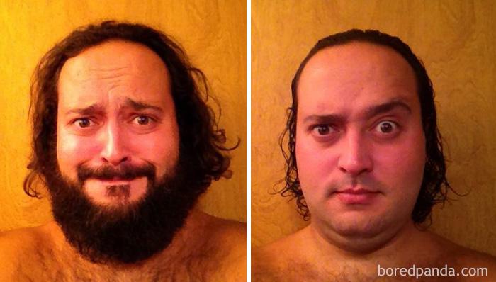 Tras 5 meses de dejarme barba