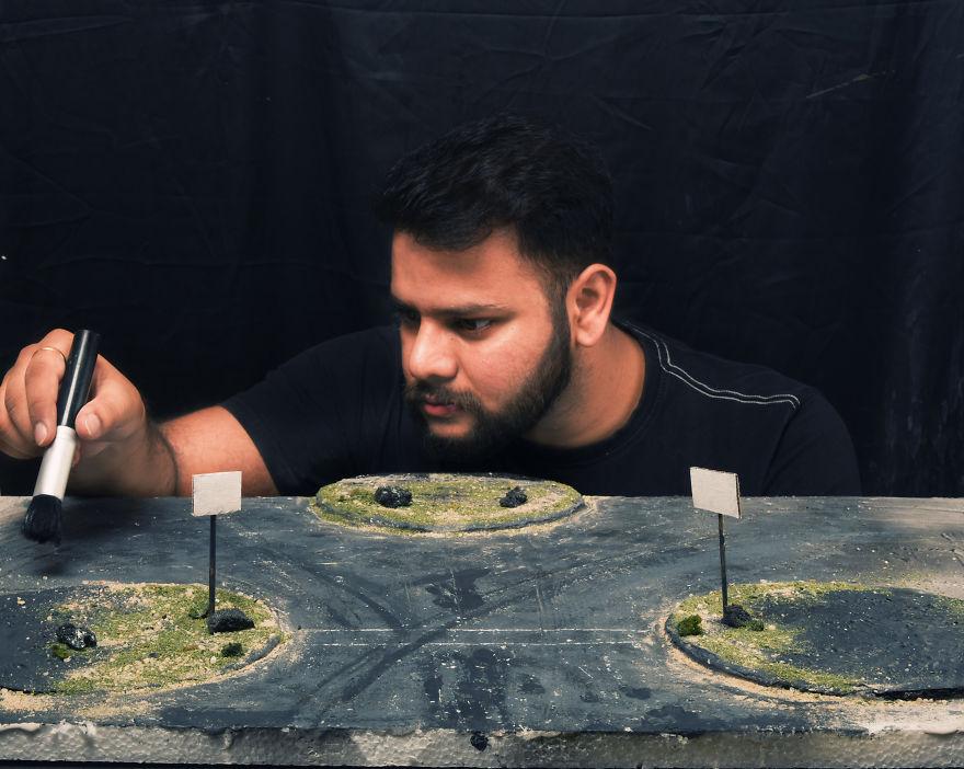 Տղամարդն իրական կյանքում վերստեղծում է երազներում տեսած առեղծվածային վայրերը (լուսանկարներ)