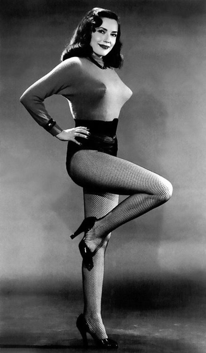 Vintage stripper hot number 4
