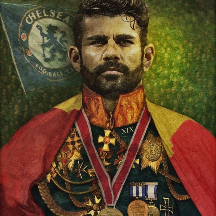 Artist Turns Chelsea Players Into Emperors
