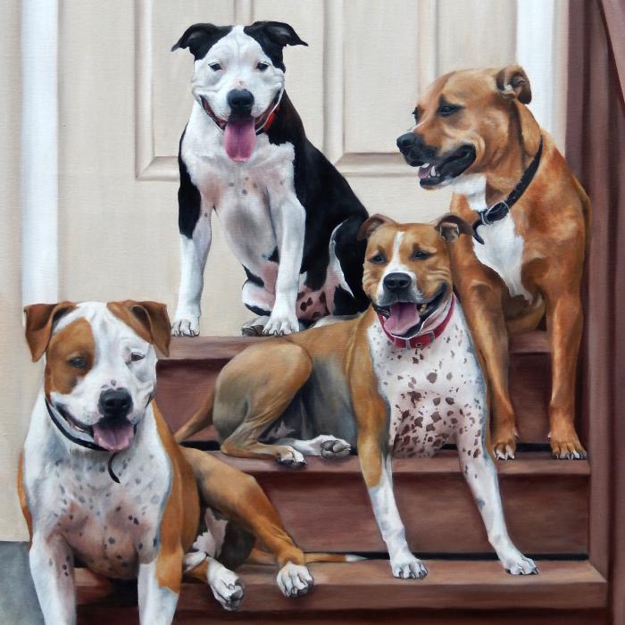 I Create Custom Paintings Of People's Pets