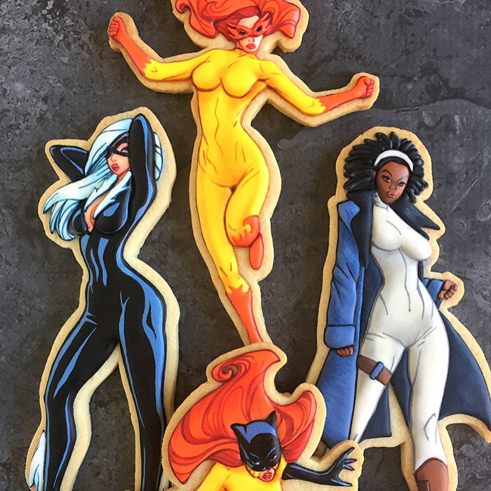 My Edible Version Of The Cover Of Marvel Divas