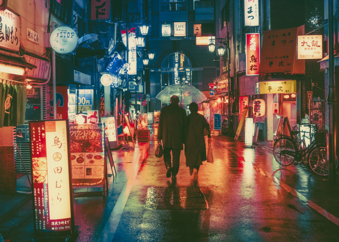 Magical Night Photos Of Tokyo's Streets By Masashi Wakui Look Straight Out Of Miyazaki Films (New Photos)