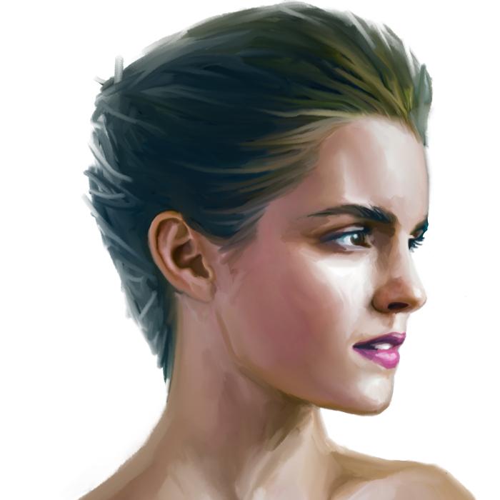 I Create Digital Portraits