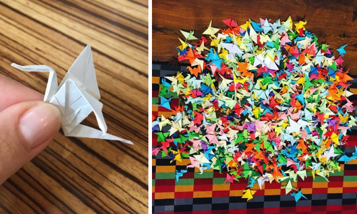 I Have Just Finished 1001 Origami Cranes