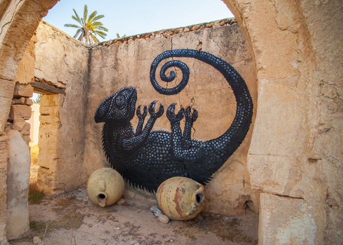 150 Artists Turn The Streets Of Tunisian Village Into Piece Of Art