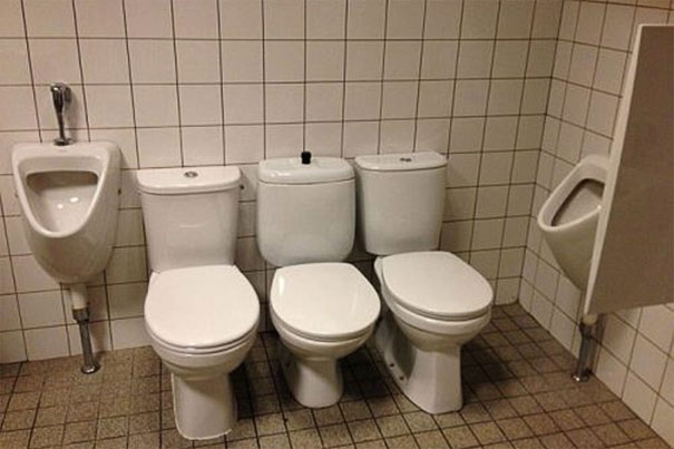 For When You Want To Go To The Toilet With All Your Friends
