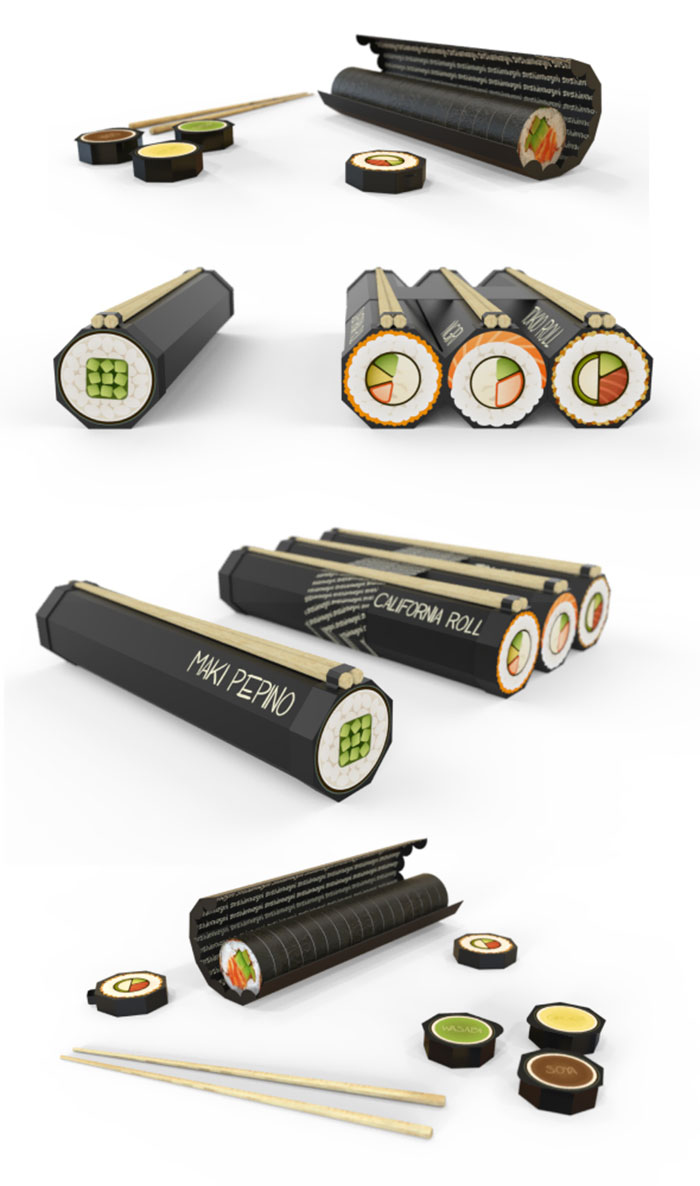 Packaging For Sushi