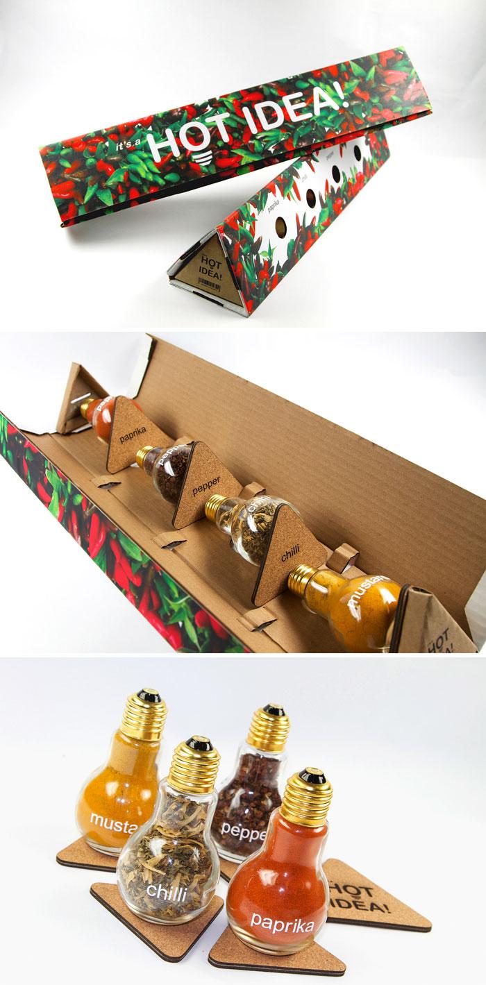 Lightbulb Spice Jars & Coasters
