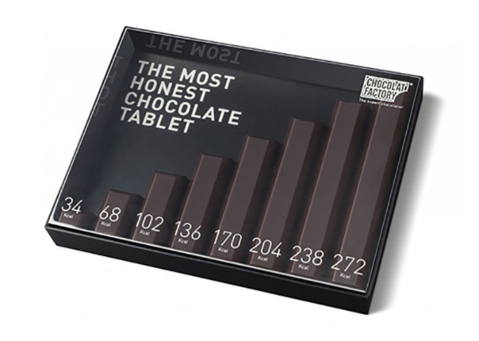 The Most Honest Chocolate Tablet