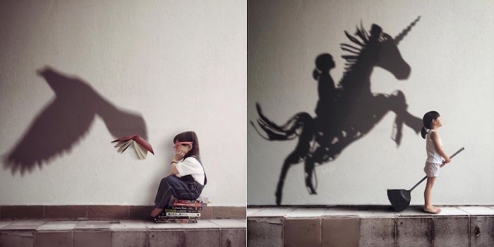 Photographer Turns Daughter's Shadows Into Dream Scenes