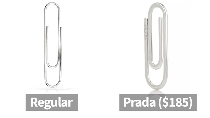 Here's How The Internet Reacted To Prada Releasing A Paperclip For $185 (10+ Pics)