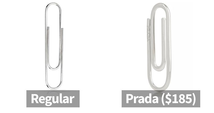 b182bf3edefe Here s How The Internet Reacted To Prada Releasing A Paperclip For  185  (10+ Pics)