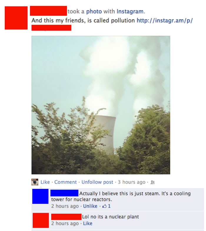 """And This, My Friends, Is Called Pollution"""