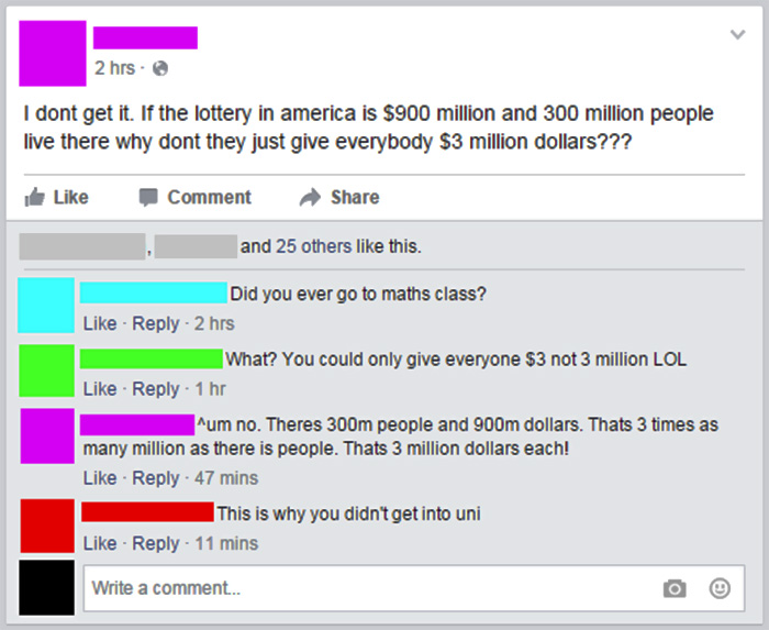 All You Americans Could Be Rich