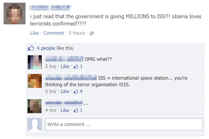 Iss Vs Isis