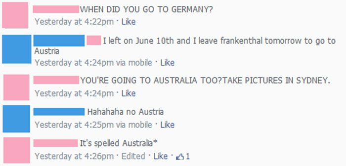 """It's Spelled Australia*"""