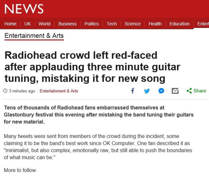Best Radiohead Song Ever