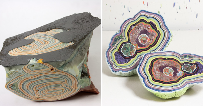 I Create Wax Sculptures Inspired By Processes That Shape And Reshape The Earth