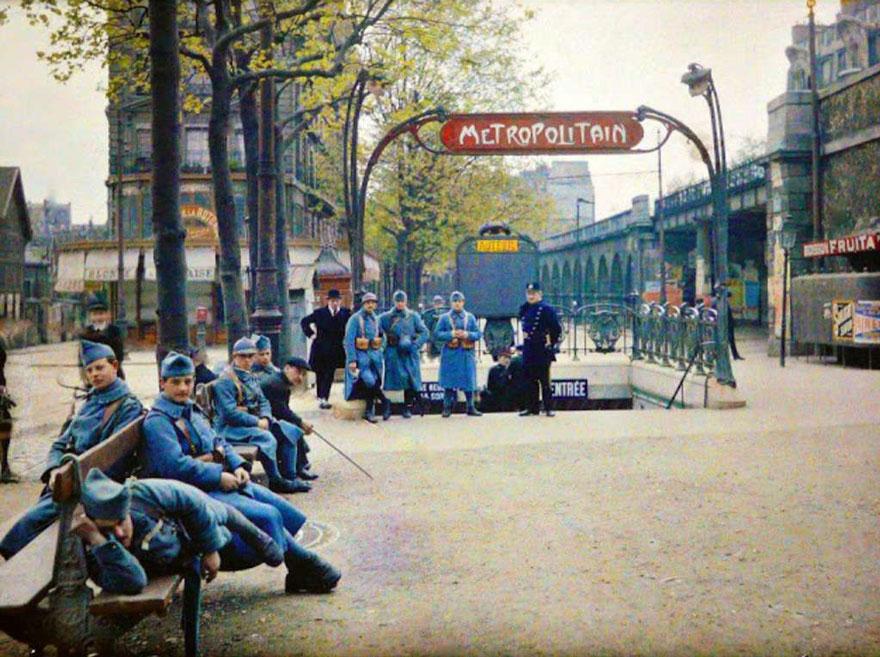 Metro, Paris, 1914