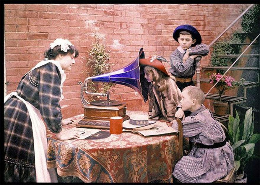 Autochorme By Etheldreda Janet Laing, 1912