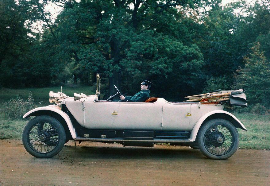 Lanchester 38hp Tourer, 1913