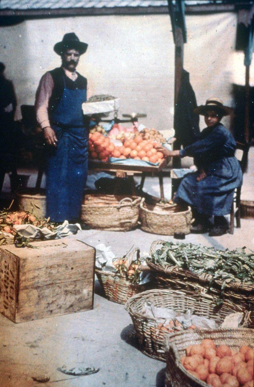 The Orange Stall, 1908