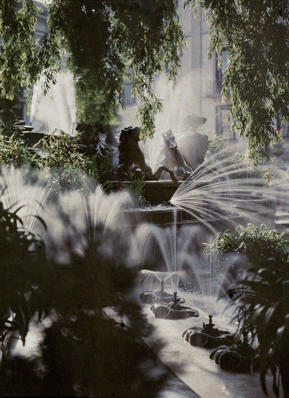 The Neptune Fountain, Cheltenham, 1910