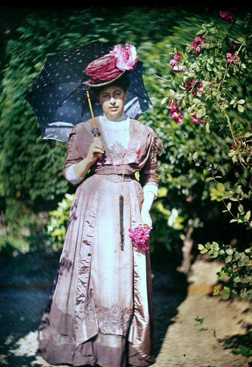 Mrs. Warburg, 1915