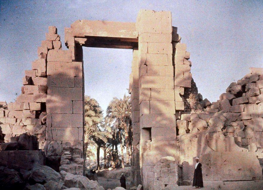 Karnak, Egypt, 1913
