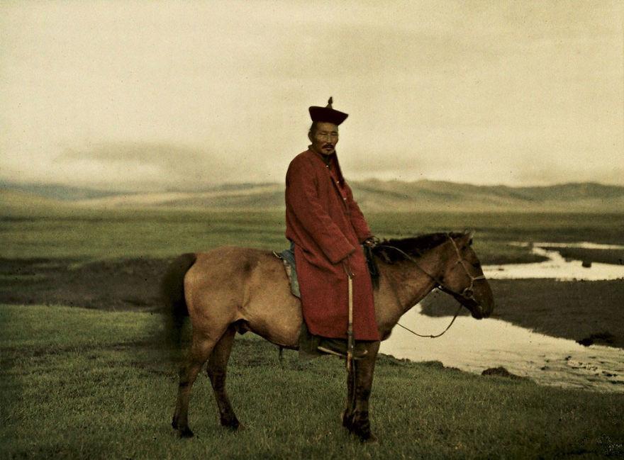 Mongolia, Near Ulaanbaatar (Buddhist Lama), 1913