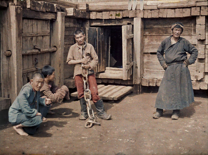 Mongolia, Ulaanbaatar (Prisoner), 1913