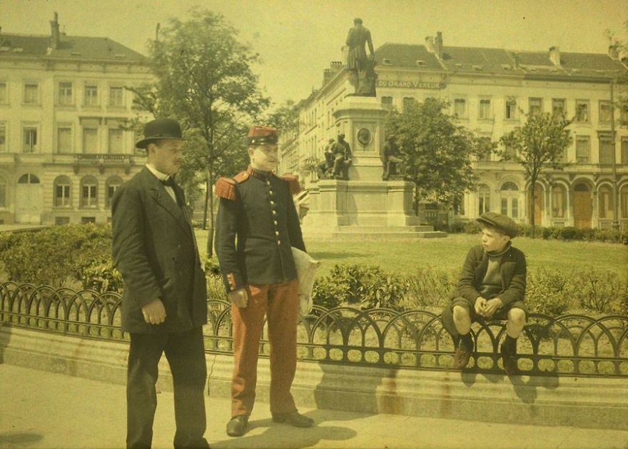 Civic And Military Garb, C. 1911