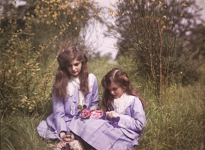 10+ Of The Oldest Color Photos Showing What The World Looked Like 100 Years Ago