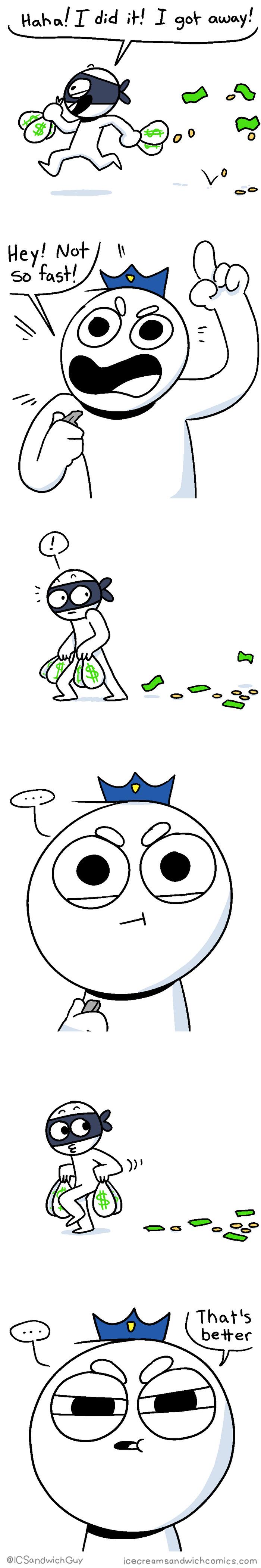 Ice Cream Sandwich Comics