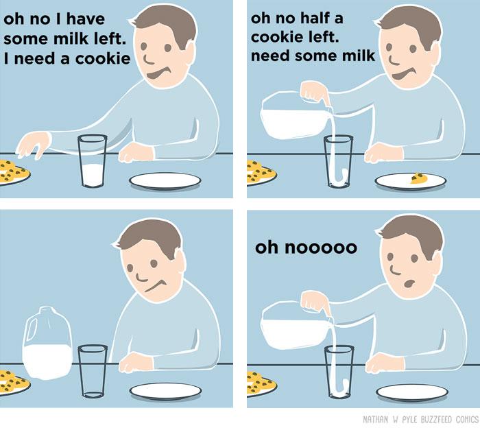 Funny Food Comics