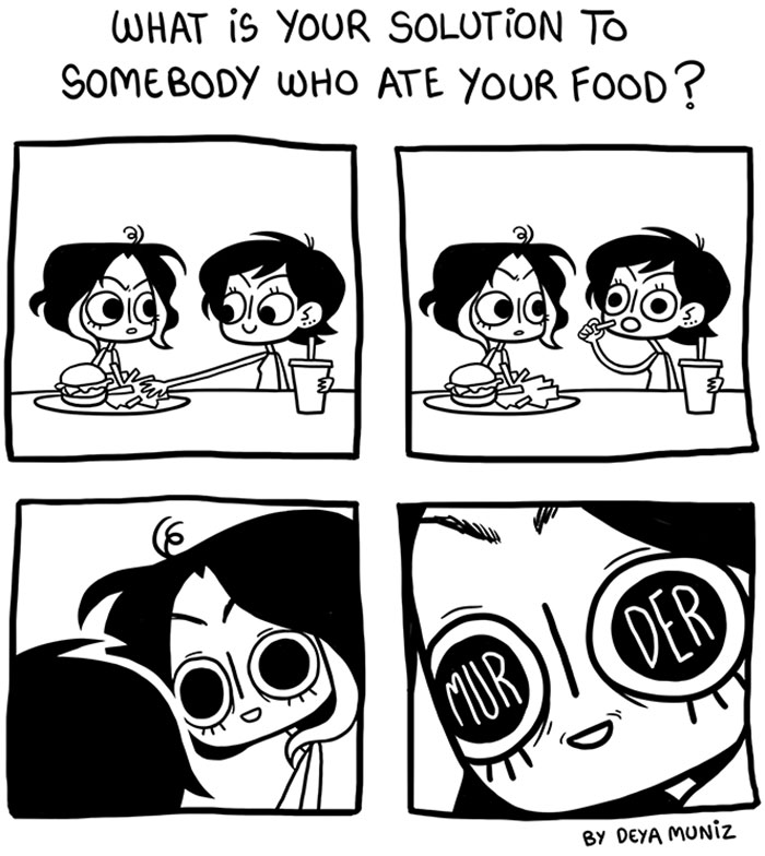 Funny Food Comics