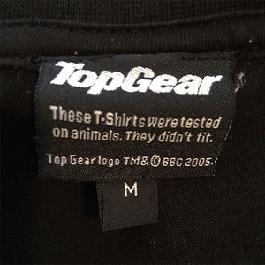 This Top-gear T-shirt Label