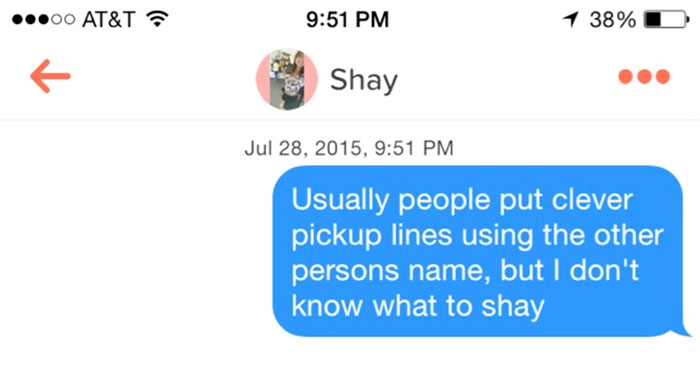 Unmatched Immediately, I Guess She Didn't Like The Pun